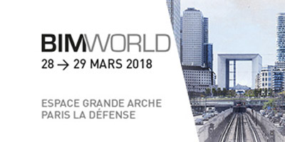 Bim My project sera présent au Salon BIMWORLD de Paris !